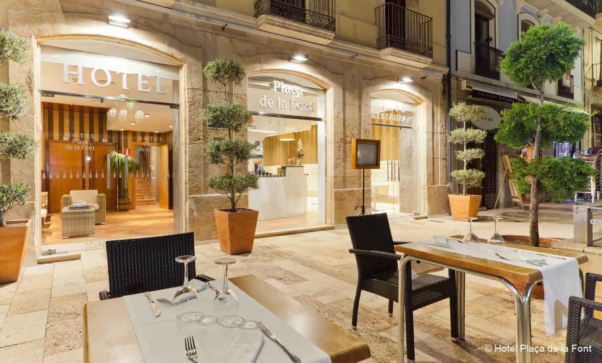 © Hotel Plaça de la Font