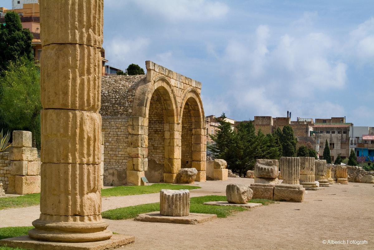 Resultado de imagen de ruinas romanas de tarragona
