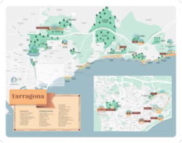 Cartina Spagna Tarragona.Cartine Tarragona Turisme