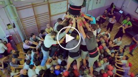 Visita guiada al local de la Colla Jove (Tarragona Ciutat de Castells 2016)
