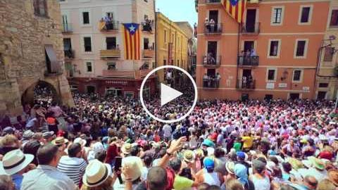 Diada castellera de Sant Magí 2016 - Tarragona Ciutat de Castells
