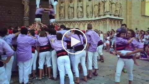Colla Jove Xiquets de Tarragona (Tarragona Ciutat de Castells 2016)