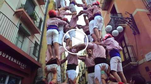 Xiquets de Tarragona (Tarragona Ciutat de Castells 2016)