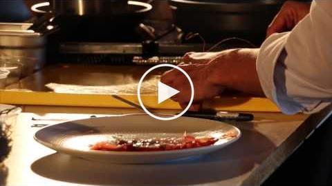 Show cooking del xef Oriol Castro amb Gamba de Tarragona (HD)