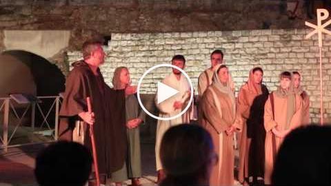 Peregrinus et fidelis - Tarragona Història Viva 2016