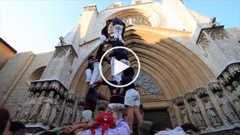 Tarragona Ciutat de Castells (Jove de Tarragona i Xiquets del Serrallo - Pla de la Seu)